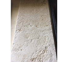 Белый состаренный камень травертин для зоны отдыха терасс вокруг бассейна 20*300*600 - Бани, бассейны и сауны в Сочи
