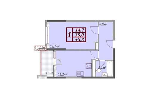 Продам 1- комнатную квартиру в сданном доме - Квартиры в Анапе