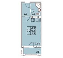 Продам студию в ЖК Привилегия - Квартиры в Анапе