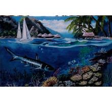 """Картина """" Подводный мир"""" - Предметы интерьера в Белореченске"""