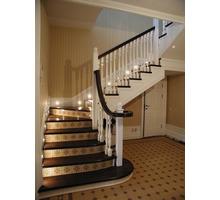 Лестница второго этажа, лакировка бесплатно - Лестницы в Краснодаре