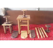 Табуреты и столы из ореха на заказ - Столы / стулья в Краснодарском Крае