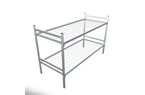 кровати металлические армейского типа, для хостелов - Мебель для спальни в Анапе
