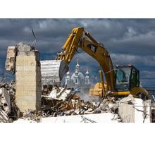 Снос дома, планировка участка, уборка мусора. - Строительные работы в Геленджике