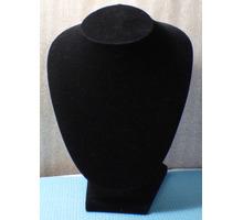 Бюсты бархатные чёрные для ювелирных магазинов - Продажа в Сочи