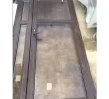 Дверь пластиковая двустворчатая - Двери входные в Геленджике
