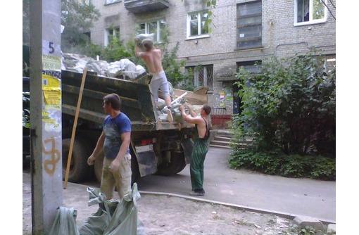 Вывоз строительного мусора с грузчиками - Строительные работы в Геленджике