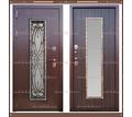 Входная дверь Джулия 1,8 мм Венге со стекло-пакетом : - Двери входные в Краснодаре