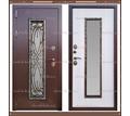 Входная дверь Джулия 1,8 мм Сандал белый со стекло-пакетом - Двери входные в Краснодаре