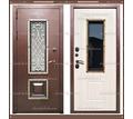 Входная дверь Диана 1,8 мм Сандал белый со стекло-пакетом - Двери входные в Краснодаре