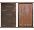 Входная дверь XL 2050 х 1100 Тёмный орех  Россия - Двери входные в Краснодарском Крае