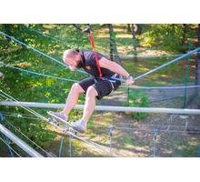 Веревочный парк SKYTOWN в центре Сочи в парке Ривьера - Активный отдых в Сочи