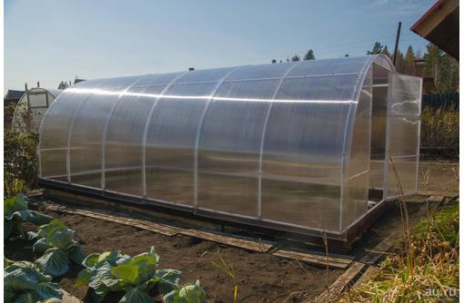 Теплица оцинкованная с поликарбонатом 3х4 - Сельхоз техника в Белореченске