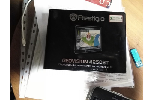 GPS Навигатор, модель PRESTIGIO GeoVision 4250, фото — «Реклама Сочи»