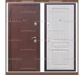 Входная дверь Консул 1,8 мм Медный антик / Белёный дуб 100 мм. Россия : - Двери входные в Краснодарском Крае