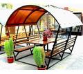 Беседка садовая с крышей летняя - Ландшафтный дизайн в Краснодарском Крае