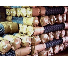 Оцинкованная сетка рабица в рулонах - Металлические конструкции в Тихорецке