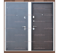 Входная дверь Сити Чёрный муар / Венге 80 мм. Россия : - Двери входные в Краснодарском Крае