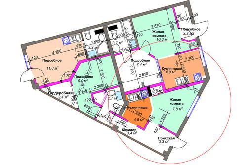Разъединение квартир .Разделение квартиры на две и более., фото — «Реклама Сочи»