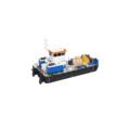 Самоходный плавучий кран с КМУ Soosan 334 - Продажа в Краснодарском Крае