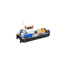 Самоходный плавучий кран с КМУ SCS333 - Продажа в Краснодарском Крае