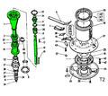 Ротор в сборе для польской косилки 1.35, 1.65, 1.85. - Сельхоз техника в Тихорецке