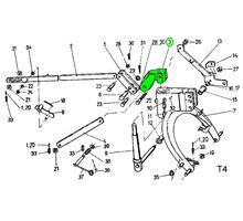 Кованая головка навесной рамы роторной косилки - Сельхоз техника в Тихорецке