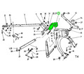 Кованая головка навесной рамы роторной косилки - Сельхоз техника в Краснодарском Крае