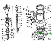 Пластмассовая заглушка нижней ступицы ротора косилки - Сельхоз техника в Тихорецке
