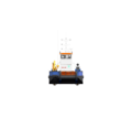 Понтонный буксир - кран с КМУ SCS333 - Продажа в Краснодаре