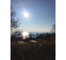 Участок с панорамным видом на море - Участки в Сочи