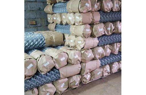 Сетка Рабица оцинкованная в рулонах оптом и в розницу с доставкой - Металлоконструкции в Армавире