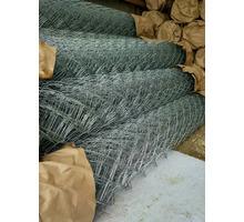 Сетка рабица оцинкованная - Металлические конструкции в Кореновске