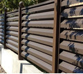 Забор жалюзи из оцинкованной стали - Заборы, ворота в Краснодаре