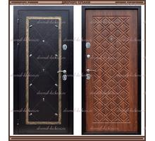 Входная дверь Сундук 1,8 мм Медный антик / Орех Россия : - Двери входные в Краснодаре