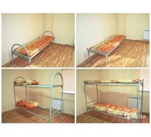 Кровати металлические, хороший выбор для бытовок, строителей и тд. - Мебель для спальни в Туапсе