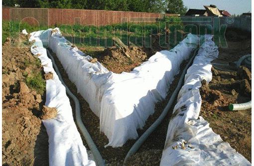 Геотекстиль Геопарк 100 Садовый иглопробивной в Армавире и Новокубанске - Кирпичи, камни, блоки в Армавире