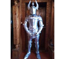 Скульптура средневекового рыцаря. - Предметы интерьера в Белореченске