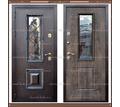 Входная дверь Ковка-1 Лесной орех со стекло-пакетом 100 мм.. - Двери входные в Краснодаре