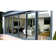 Раздвижные алюминиевые двери, алюминиевые двери со стеклом - Двери входные в Краснодарском Крае