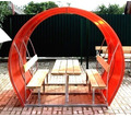 Беседки дачные с металлическим каркасом Апшеронск - Ландшафтный дизайн в Апшеронске