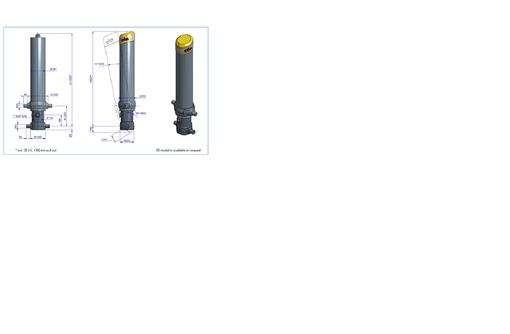 Гидроцилиндр FC A169-5-06230-000A-K0343 - Для грузовых авто в Адлере