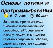 Курс Основы логики и программирования 6-7 лет - Детские развивающие центры в Новороссийске