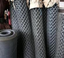 Сетка-рабица оцинкованная, прочная - Металлоконструкции в Усть-Лабинске
