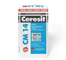 Клей плиточный Церезит CM 14 Extra, 25кг - Отделочные материалы в Краснодаре