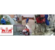 Сверление отверстий (бетон,монолит,кирпич) под вентиляцию, сплит-системы - Кондиционеры, вентиляция в Краснодаре