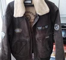 """Куртка """"Pilot"""" из натуральной кожи фирменная. - Мужская одежда в Краснодаре"""