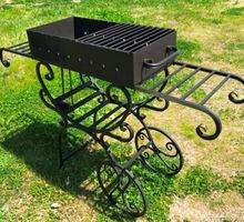 Мангал индивидуального изготовления на колесах - Отдых, туризм в Сочи