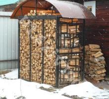Большая дровница садовая. - Ландшафтный дизайн в Курганинске