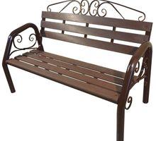 Скамья садово-парковая с ковкой - Садовая мебель и декор в Сочи